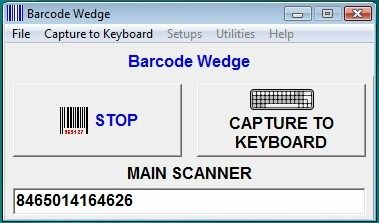 bcwedge barcode serial keyboard wedge comtokey com comm port ports barcode bar c